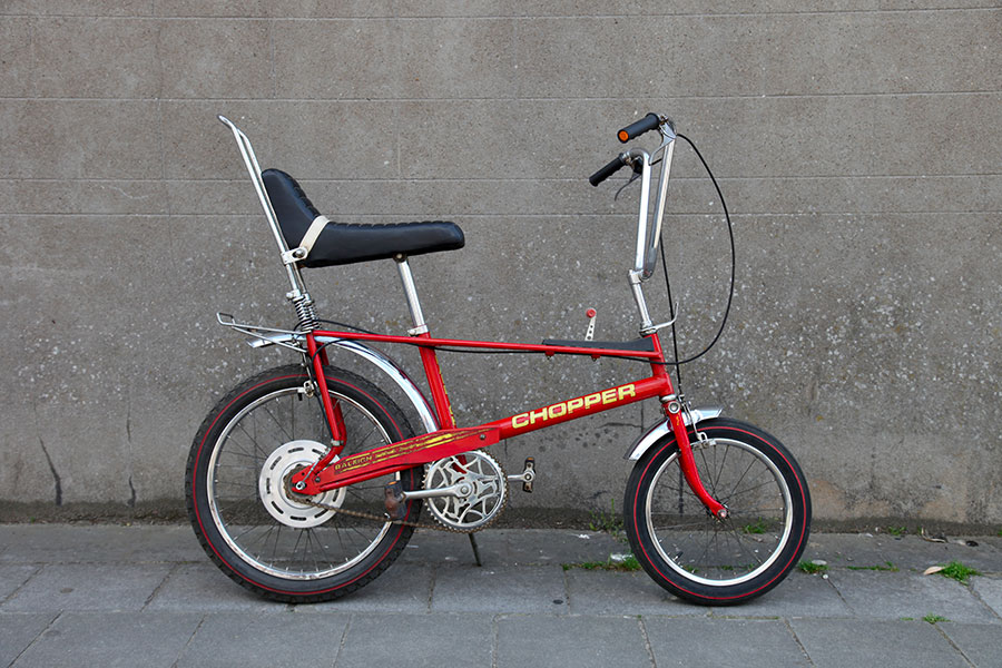 Raleigh Chopper MKII, tumbleweed cycles, tumbleweedcycles