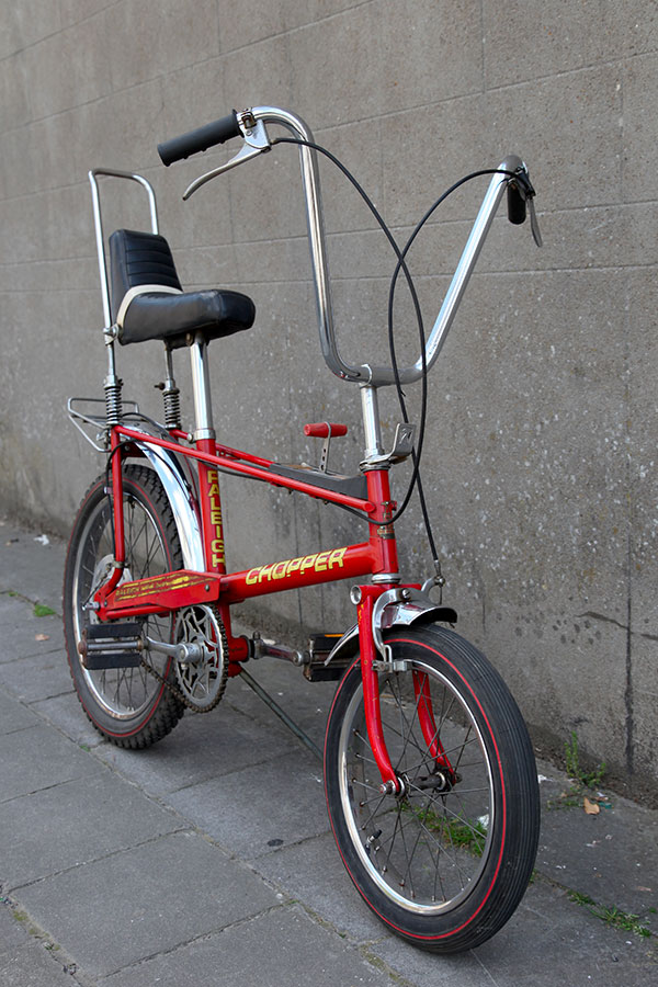 Raleigh Chopper MKII, tumbleweed cycles, tumbleweedcycles