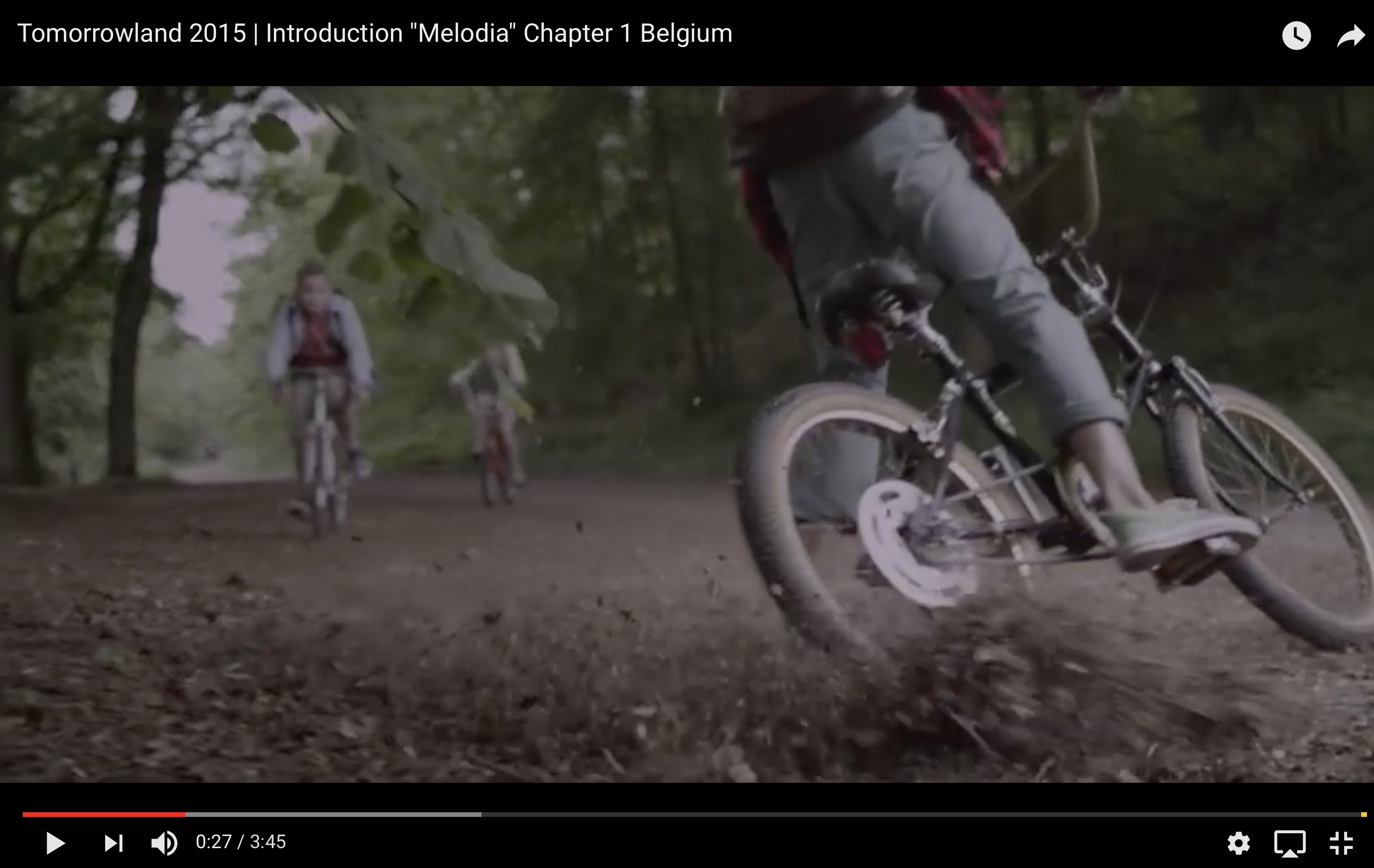 "Tomorrowland 2015 | Introduction ""Melodia"" Chapter 1 Belgium, tumbleweed cycles"