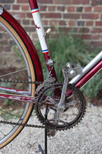 Randonneuse Excell France années 50, vente location vélos vintage, vintage bicycle, tumbleweedcycles, tumbleweed cycles