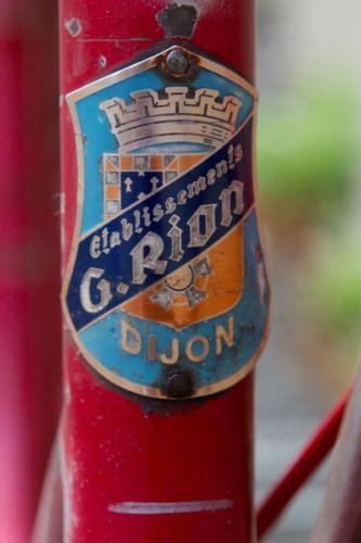 Porteur G. Rion (Dijon) années 50